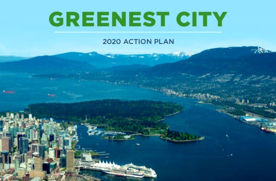 Vancouver On Track for Greenist City