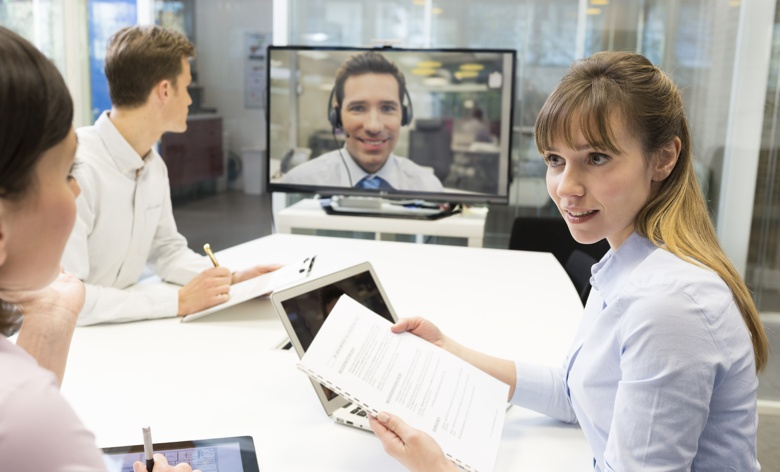 Working Remotely Via Videoconference